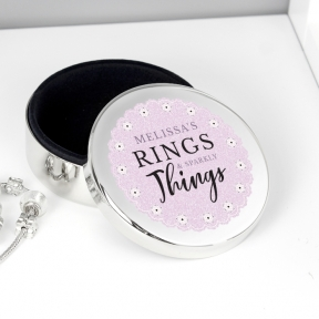 Trinket, Jewellery & Keepsake Boxes
