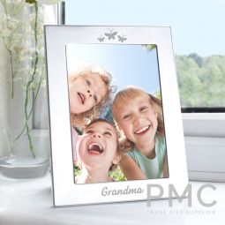Silver 5x7 Grandma Photo Frame