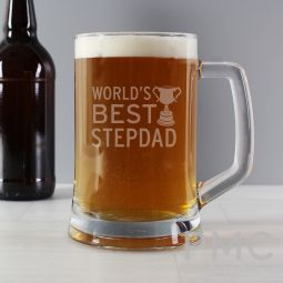 Worlds Best Step Dad Stern Tankard