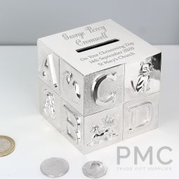 Personalised Big Name ABC Moneybox