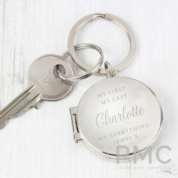 Personalised Classic Photo Keyring