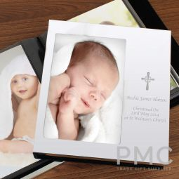 Personalised Cross 6x4 Photo Frame Album