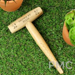 Personalised Floral Wooden Dibber