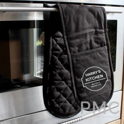 Personalised BBQ & Grill Oven Gloves