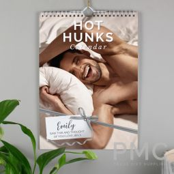 Personalised A4 Hot Hunks Calendar