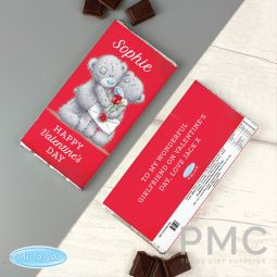 Personalised Me to You Valentine Milk Chocolate Bar