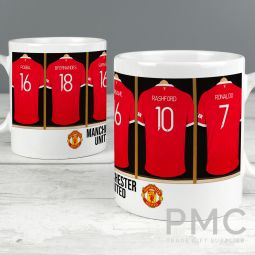 Manchester United Football Club Dressing Room Mug