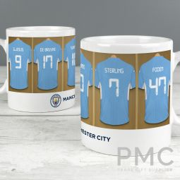Manchester City Football Club Dressing Room Mug