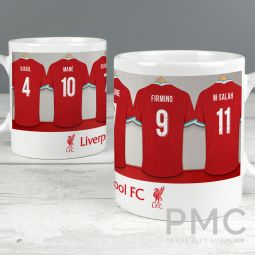 Liverpool Football Club Dressing Room Mug