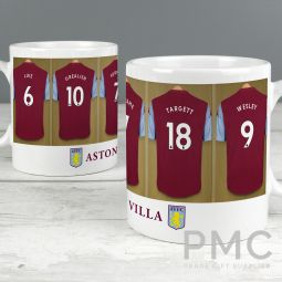 Aston Villa Football Club Dressing Room Mug