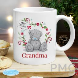 Personalised Me to You 'For Nan, Grandma, Mum' Christmas Mug