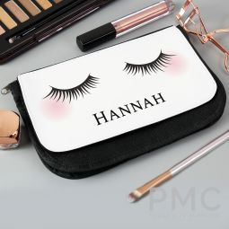 Personalised Eyelashes Make Up Bag